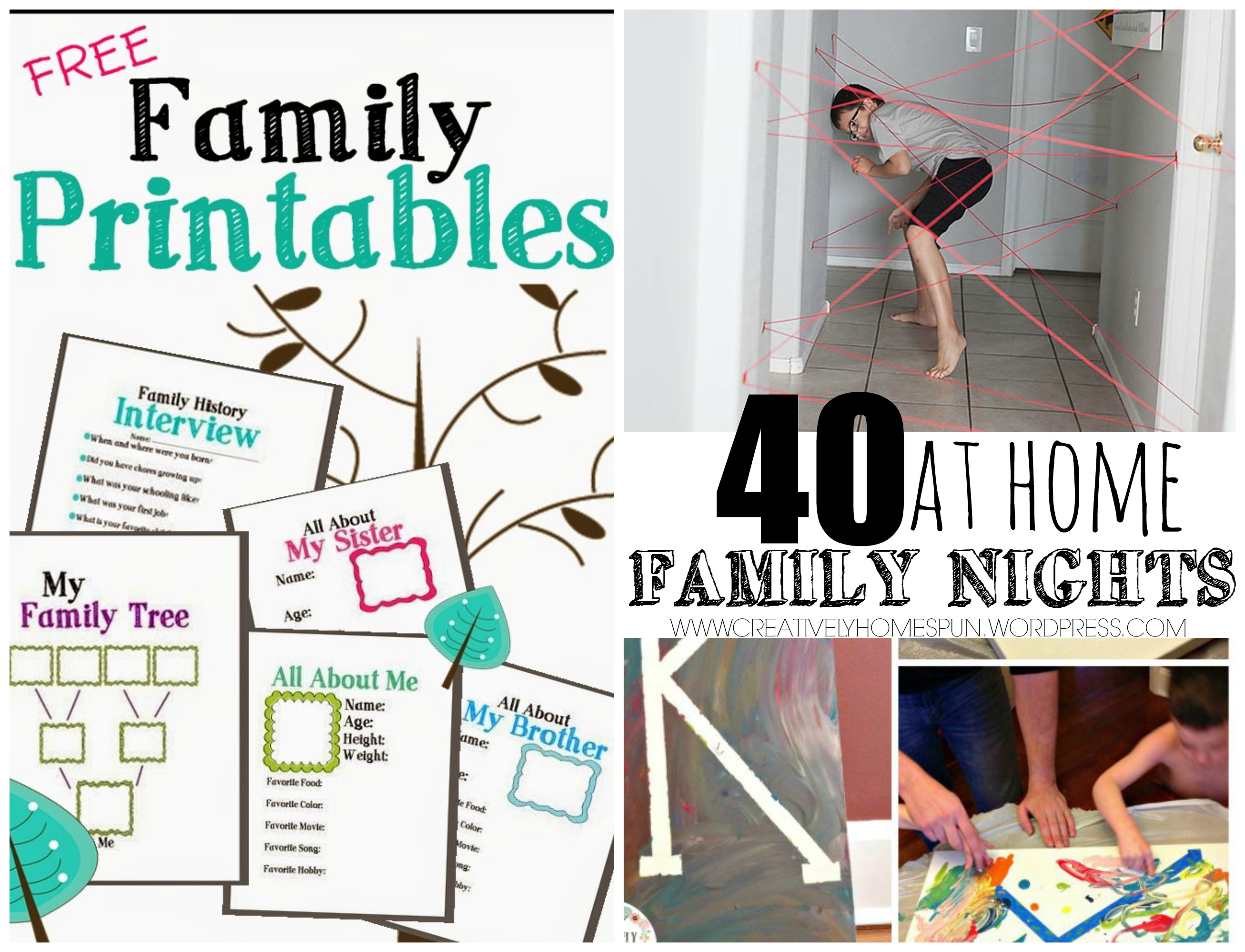 40 at Home Family Nights